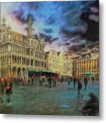 Two Nights In Brussels #21 Season's End Metal Print