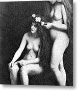 Two Nudes, 1913 Metal Print