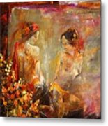 Two Nudes  Metal Print