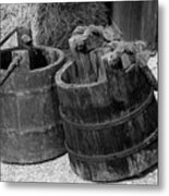 Two Old Pales Metal Print