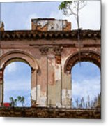 Two Picture Windows Metal Print