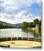 Two Rivers Confluence Park Metal Print