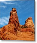 Two Sisters Formation Sedona Az Hbn2 Metal Print