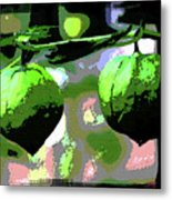 Two Tomatillo Metal Print