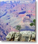 Two Tree Rock Metal Print