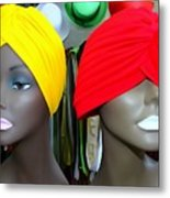 Two Turbans Metal Print