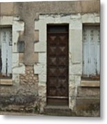 Two Windows And A Door Metal Print