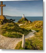 Twr Mawr Lighthouse Metal Print