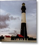 Tybee Island Lighthouse - Square Format Metal Print