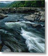 Tygart Valley River Metal Print