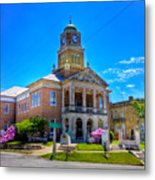 Tyler County Courthouse Metal Print