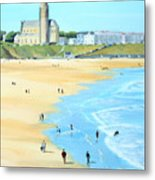 Tynemouth Beach Metal Print