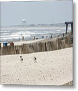 Typical Jersey Shore Afternoon Metal Print