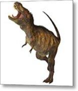 Tyrannosaurus Rex Profile Metal Print