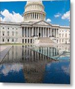 U S Capitol East Front Metal Print