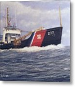 U. S. Coast Guard Buoy Tender Metal Print