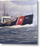 U. S. Coast Guard Buoy Tender Metal Print by William H RaVell III
