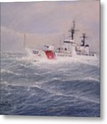 U. S. Coast Guard Cutter Gallitin Metal Print
