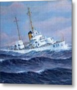 U. S. Coast Guard Cutter Owasco Metal Print