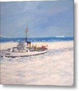 U. S. Coast Guard Icebreaker Northwind Metal Print