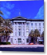 U S Custom House - New Orleans Metal Print