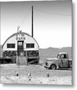 U - We Wash - Death Valley Metal Print