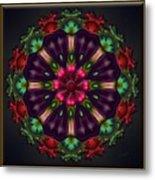 u028 Wholehearted Hibiscus Metal Print