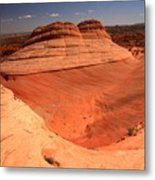 Ufo In Coyote Buttes Metal Print