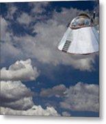 Ufo Sighting Metal Print