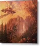 Ufo Sighting Metal Print