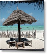 Uhuru Beach Lodge Zanzibar - Notkak Metal Print