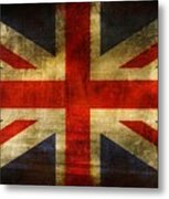 Uk Flag Metal Print