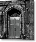 Ukrainian Catholic Church Bw Metal Print