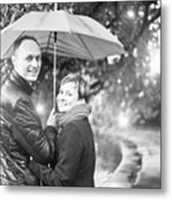 Ula And Wojtek Engagement 7 Metal Print