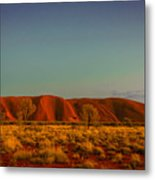 Uluru/ayers Rock Metal Print