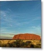 Uluru Sunset 01 Metal Print