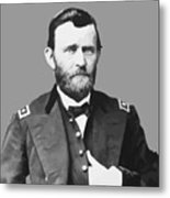 Ulysses S Grant Metal Print by War Is Hell Store