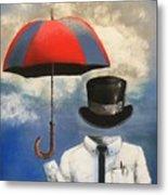 Umbrella Metal Print by Crispin  Delgado