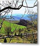 Umbria Mountains Metal Print
