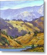 Umunhum View  12x24 Oil Metal Print