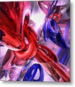 Unchained Abstract Metal Print