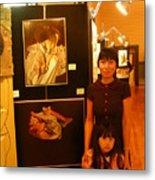 Unclad 2007 Exhibit Metal Print