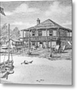 Uncle Edgar S Willoughby House  Metal Print