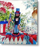 Uncle Sam And Star Cookies Metal Print