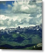 Uncompahgre Colorado Alpine Metal Print