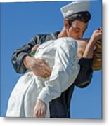 Unconditional Surrender 2 Metal Print