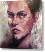 Uncovered Beauty Metal Print