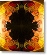 Undecided Bliss Abstract Healing Artwork By Omaste Witkowski Metal Print