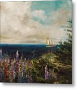 Under Full Sail Metal Print