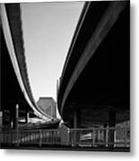 Under Interstate 5 Sacramento Metal Print